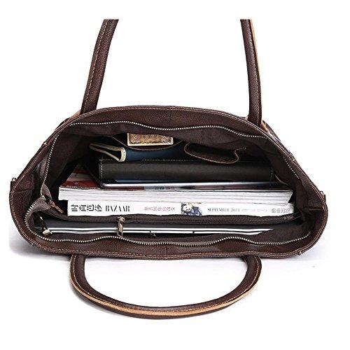 Large Body Bags Crossbody Tote Handbag Brown Sheli Leather Cross Women For Designer Vintage XHEq16xR
