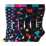 fenglaoda Women's Sports Compression Socks