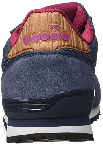 Diadora Titan II W, Zapatillas de Gimnasia Para Mujer Azul (Vintage Indigo)