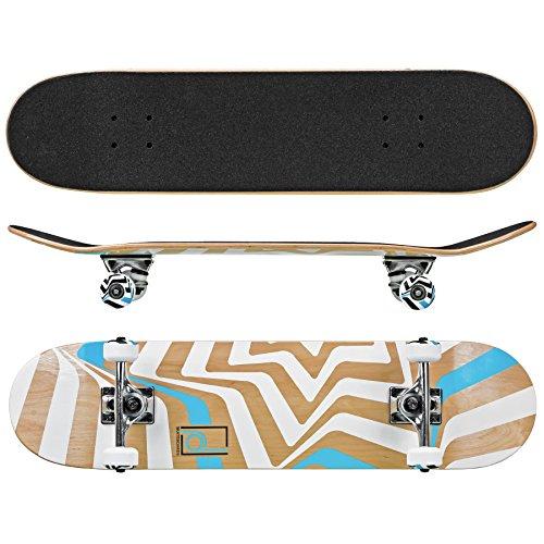 (Roller Derby Rd Street Series Skateboard Star, Multi, 31