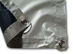 eXsun - Estor protector del sol para Velux 104 / C04 Marca: eXsun. Set completo: incluye todo lo necesario para su uso.