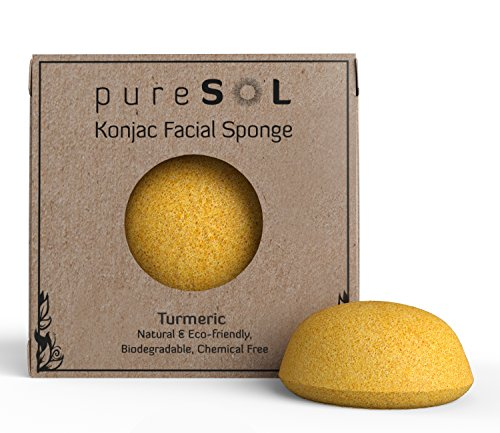 pureSOL Konjac Sponge Eco friendly Exfoliation