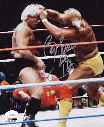 (Ric Flair Nwa Wcw Wwf Wwe Signed Autograph Nature Boy 8x10 Photo Coa - JSA Certified - Autographed Wrestling Photos)