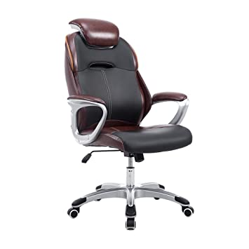 Bureau Chaise Ergonomique Boss Ordinateur Patron Executive Fauteuil Racing Pivotante Sport Electronique Jeu Video