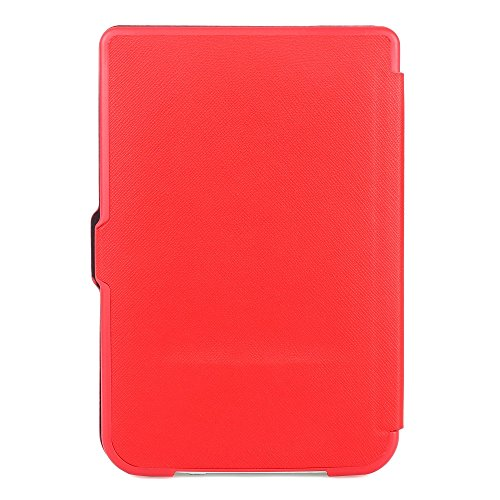 NIFTYNOOK Flip Case for PocketBook 624 Basic Touch / PocketBook 626 Touch Lux 2 / Touch Lux 3 in Red at Electronic-Readers.com