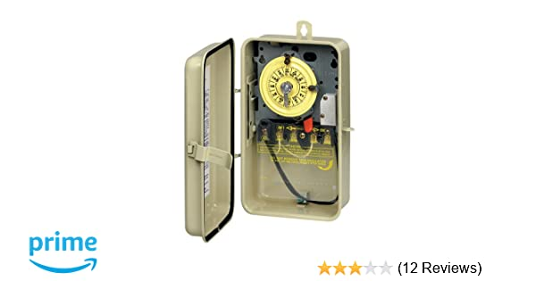 amazon com : intermatic t104r201 time switch : swimming pool timers :  garden & outdoor