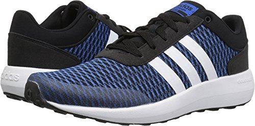 Adidas Sport Race (adidas NEO Men's CF Race Running-Shoes, Black/White/Blue, 14 Medium US)