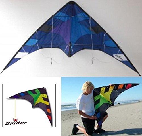 入門用スポーツカイト【専門店/Flying Wings Kite】SPIDER Blue B01EHWZ4IO