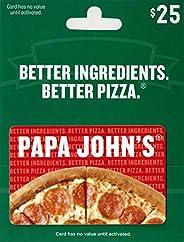 Papa John's Pizza Gift
