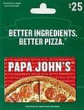Papa John's Pizza $25 Gift Card