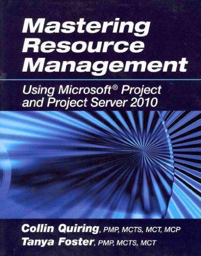 (Mastering Resource Management: Using Microsoft Project and Project Server 2010) By Quiring, Collin (Author) Paperback on (09 , 2011) (Anglais) Broché – 1 septembre 2011 Collin Quiring J. Ross Publishing B0068HFV3A 9781604270655
