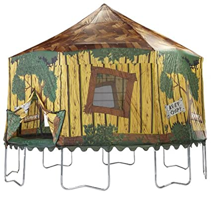 JumpPod Enclosure Cover Tr&oline Tree House (15-Feet)  sc 1 st  Amazon.com & Amazon.com : JumpPod Enclosure Cover Trampoline Tree House (15 ...