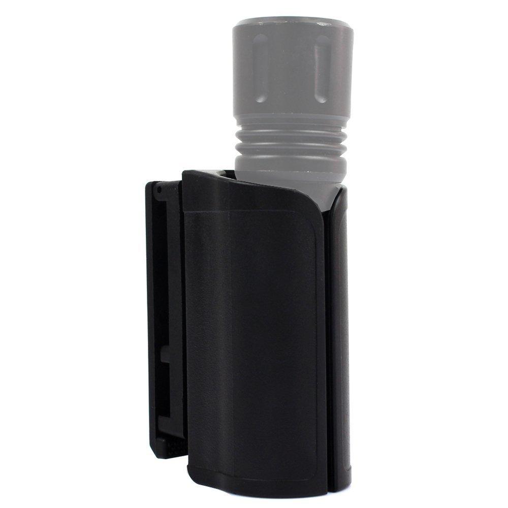 LytHarvest Compact Light Holder, Baton Holder 16 inch, Duty Flashlight Holder Belt Carry Case by LytHarvest