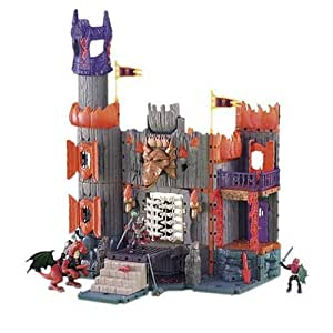 Amazon.com: Imaginext Dragonmont's Fortress with Video