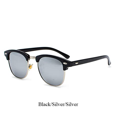 Yangjing-hl Gafas de Sol polarizadas de Moda Mujeres Hombres ...