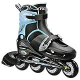 Roller Derby Boy's I-139BS Cobra Adjustable Inline Skate, Small 12-1