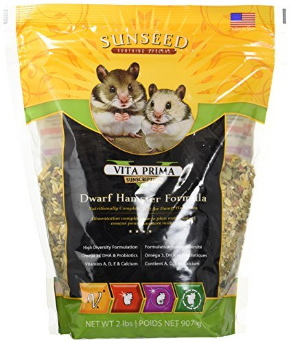 Product image of Vitakraft Vita Prima Sunscription Dwarf Hamster Formula (2 lb / 2 Pack)