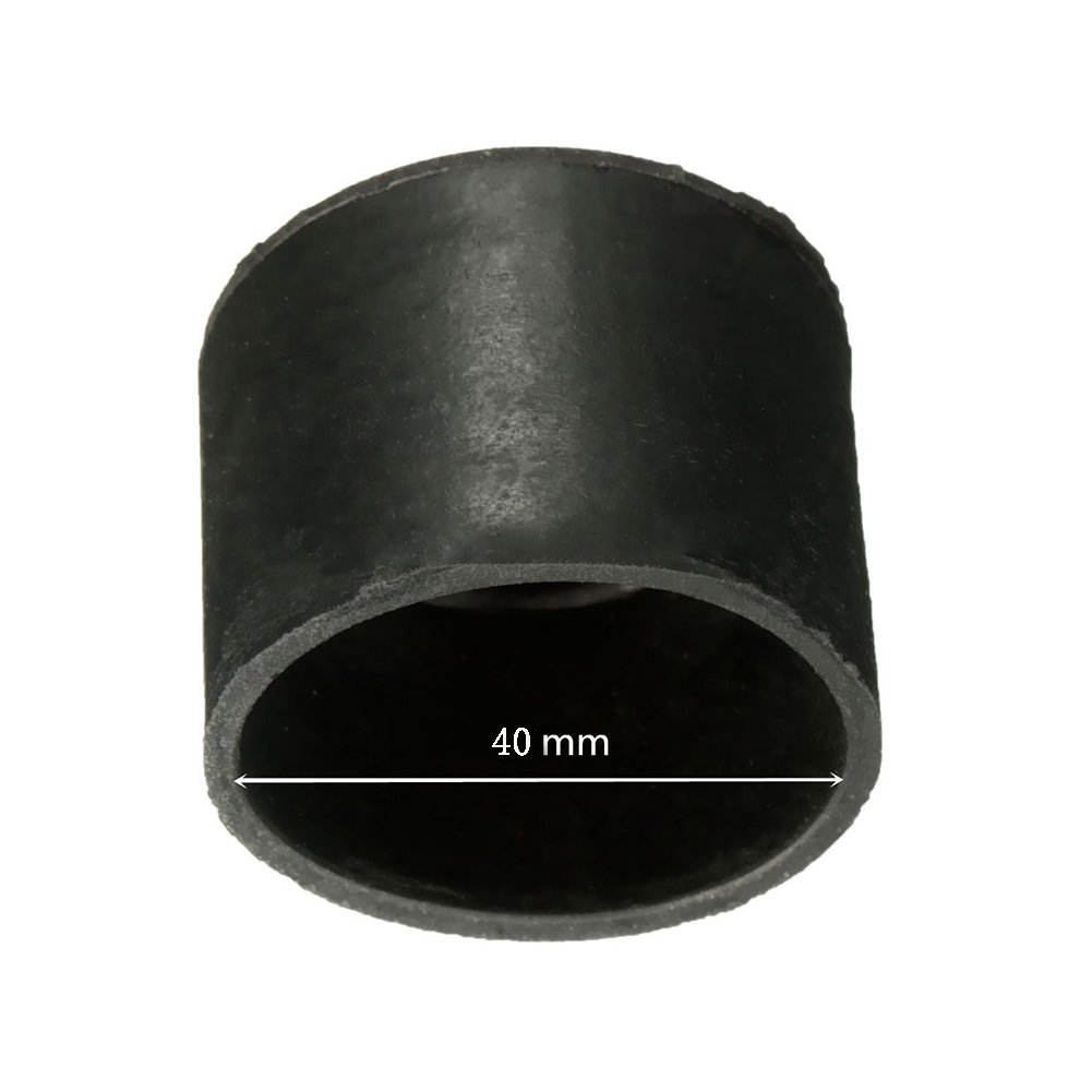 40mm 8 PCS Rubber Chair Floor Protector Ferrule Cap End Tips Chair Leg Caps Rubber Feet Table Covers Protectors for Hardwood Floors
