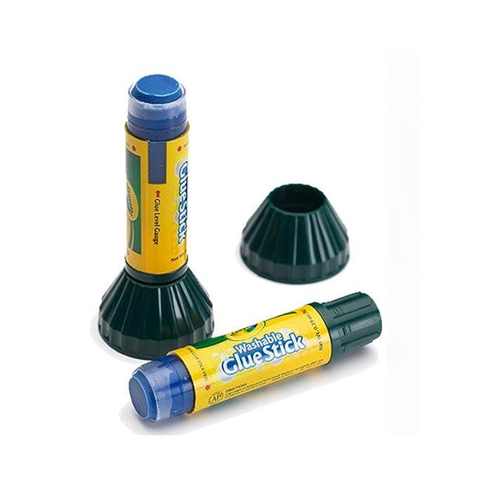 amazon com crayola 29oz glue sticks 2 count 56 1129 toys games