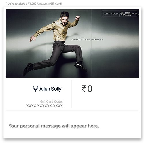 Get Flat 9% off at Checkout||Allen Solly – Instant Voucher