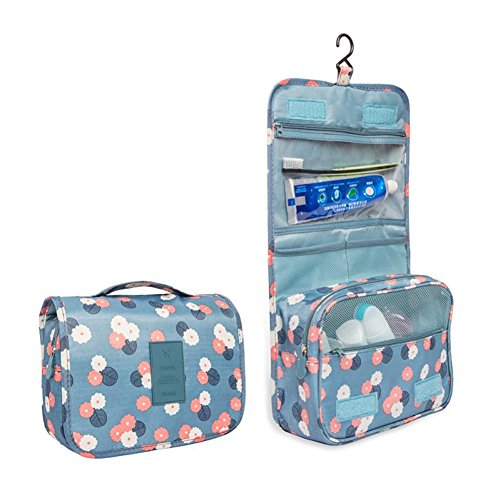 114725e2bf Zoevan Toiletry Cosmetic Bag Portable Makeup Pouch Waterproof Travel  Organizer