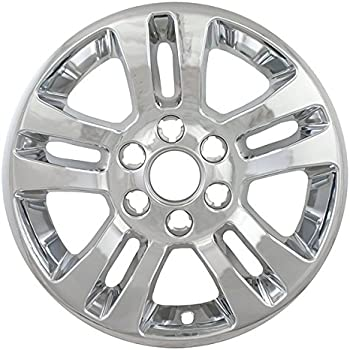 Amazon Com Overdrive Brands Chrome 18 Hub Cap Wheel Skins For