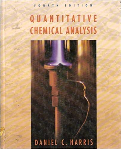 Quantitative Chemical Analysis Daniel C Harris