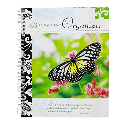 Bill Organizer (Gifts Plus Bill Payment Organizer Book - Butterfly Cover)