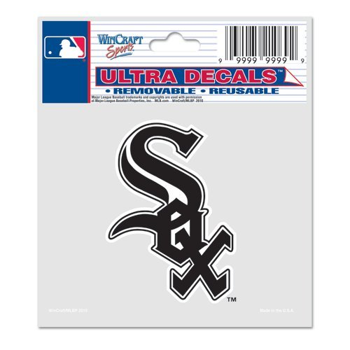 WinCraft MLB Chicago White Sox Ultra Color Decal, 5