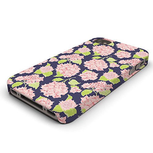 Koveru Back Cover Case for Apple iPhone 4/4S - Flower Pattern