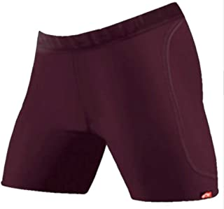 product image for WSI Women's Microtech Slider Shorts, Maroon, Medium
