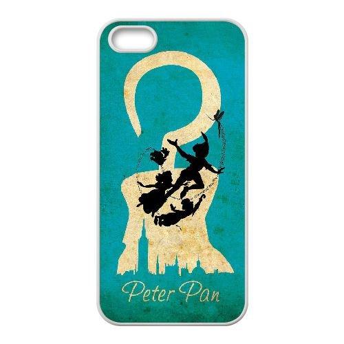 Peter Pan 008 coque iPhone 4 4S Housse Blanc téléphone portable couverture de cas coque EEEXLKNBC19358