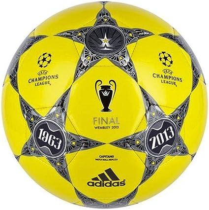 adidas Balón de fútbol Finale Wembley Capitano, amarillo S13/Black ...