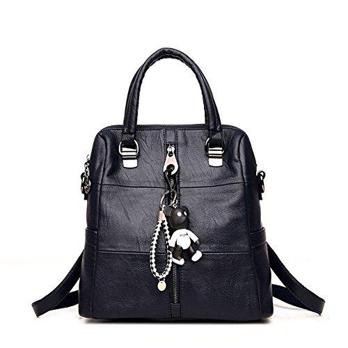 Women's Capacity Hand Shoulder Back Multi Handbag Fashion Bags Bag Blue Large Handbags Bags Bag Shoulder Casual Big Bags r7ZFrf