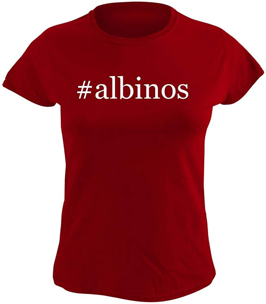 #albinos - Women's Hashtag Graphic T-Shirt, Red, Medium