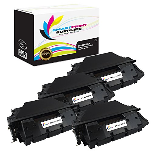 Smart Print Supplies Compatible 61X C8061X MICR with Chip Black High Yield Toner Cartridge Replacement for HP Laserjet 4100 4150 Printers (10,000 Pages) - 4 - Smart C8061x Print