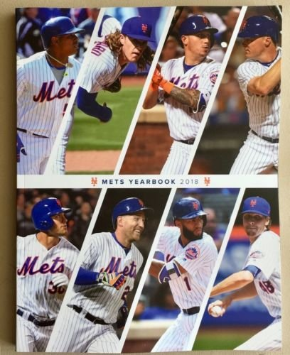 Baseball 2018 Mets Yearbook Program World Series 272 Pages Official Team YEARBOOKPRE-Order Item - Shipping Begins October 5TH