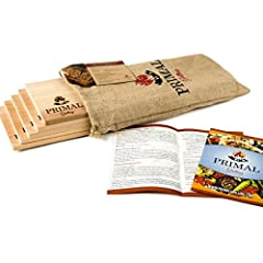Better cedar grilling planks mean better flavor! That's why we use the finest Western Red Cedar for our Primal Grilling Planks. Plus, we go through multiple steps to ensure superior quality. Planks are:  Kiln-dried to help prevent mold and en...