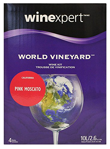 World Vineyard Pink Moscato From California - Limited Release by World Vineyard (Sweet Wine Moscato)