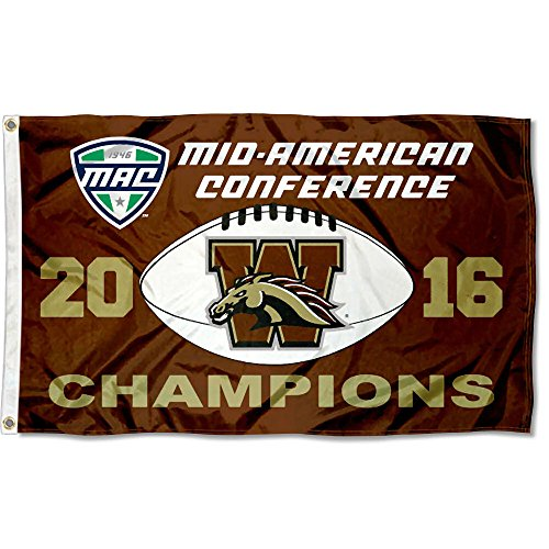 - College Flags and Banners Co. Western Michigan Broncos 2016 MAC Champions Flag