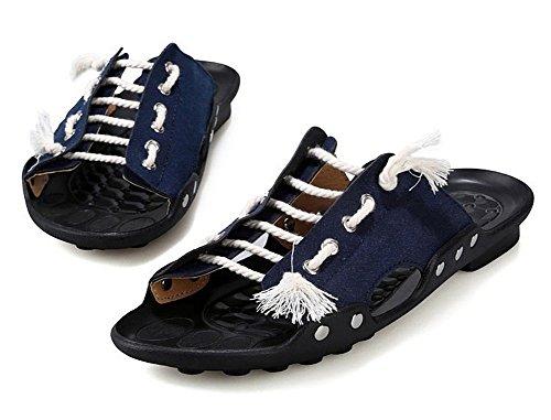 Panda Superstore Herenpantoffels - Heren Sandalen Schoenen - Sandalen - Blauw