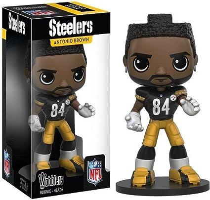 3b1f9002d14 Amazon.com  Funko Wobbler  NFL - Antonio Brown Action Figure  Artist Not  Provided  Toys   Games