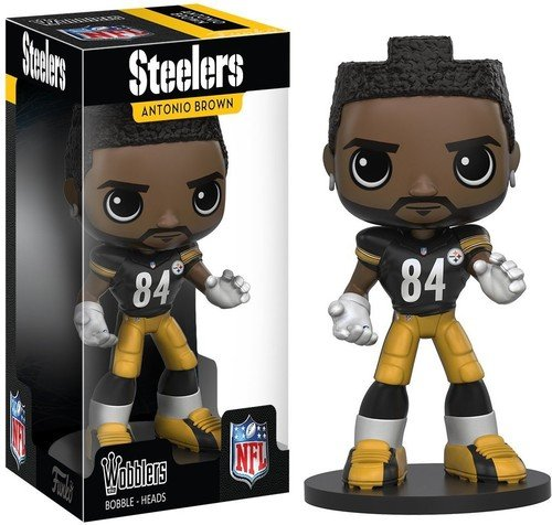 Funko Wobbler: NFL - Antonio Brown Action Figure