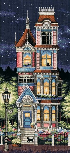 Dimensions Victorian Charm Counted Cross Stitch Kit-8X17 13666