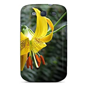 New Fashion Premium Tpu Case Cover For Galaxy S3 - Dainty Lily