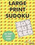 Large Print Sudoku, Clarity Media, 1480215694