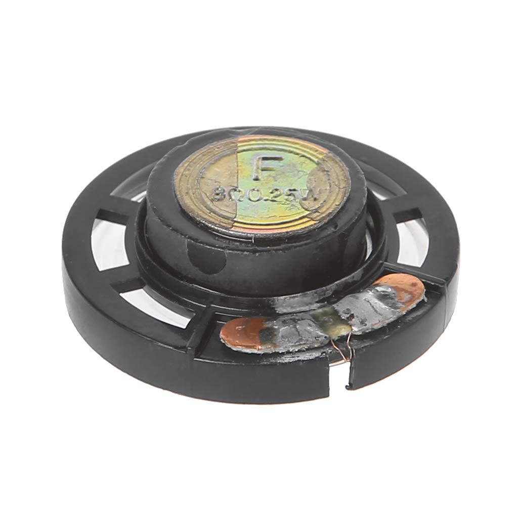 SimpleLif Mini Portable Audio Speakers- External Loudspeaker Magnetic Speaker 0.25W 8 Ohm,2.9cm