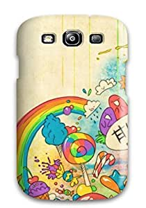 Premium Galaxy S3 Case - Protective Skin - High Quality For Abstract Cartoon Desktop