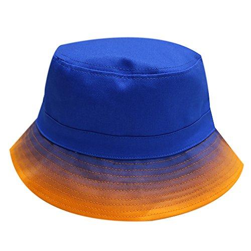 City Hunter Bd1430 Gradation Gradation Bucket Hat - - Gradation Blue