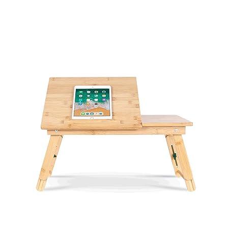 Mesa Plegable Mesa de ordenador plegable, ajustable en altura ...